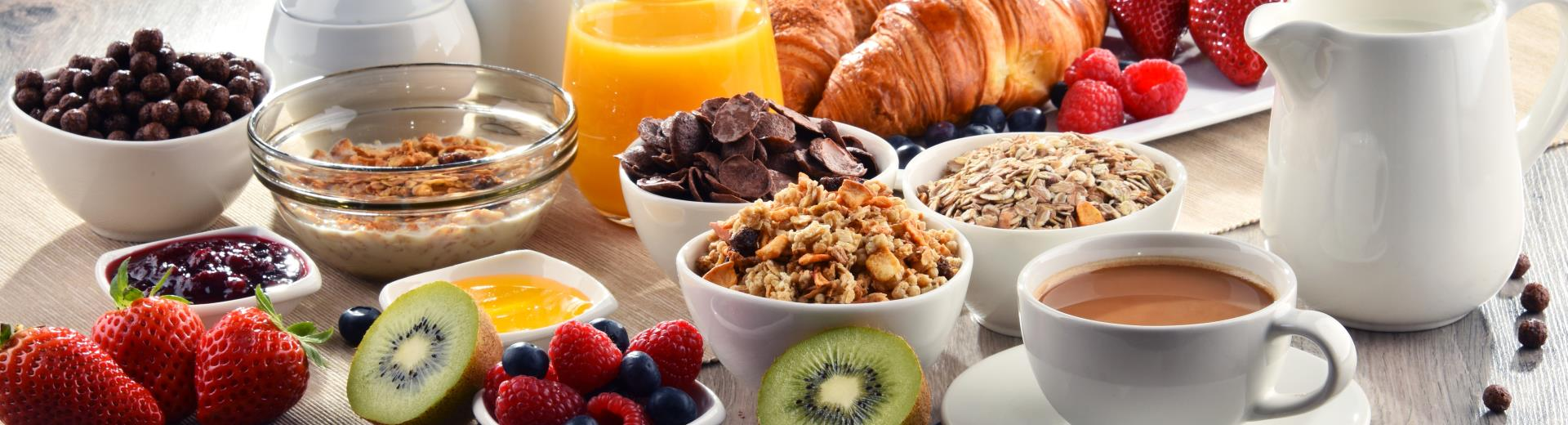 Breakfast is free for Gold, Platinum, Diamond and Diamond Select Best Western Rewards® members